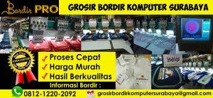 Bisnis konveksi Bordir Pro Surabaya