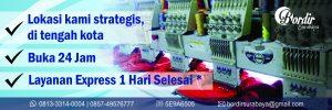 Bisnis konveksi Bordir Surabaya
