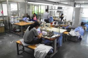 Pusat Garment Surabaya, Produksi Kapasitas Besar